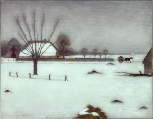 JanMankesWinterInEerbeek+1916